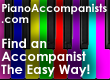 PianoAccompanists.com - The easiest way to find an accompanist